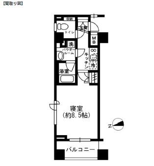レジディア四谷三丁目602号室
