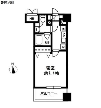 レジディア四谷三丁目607号室