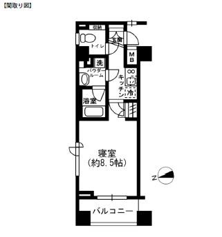 レジディア四谷三丁目902号室