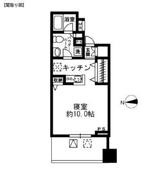 レジディア四谷三丁目904号室