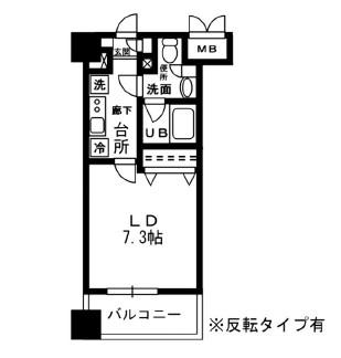 レジディア四谷三丁目907号室