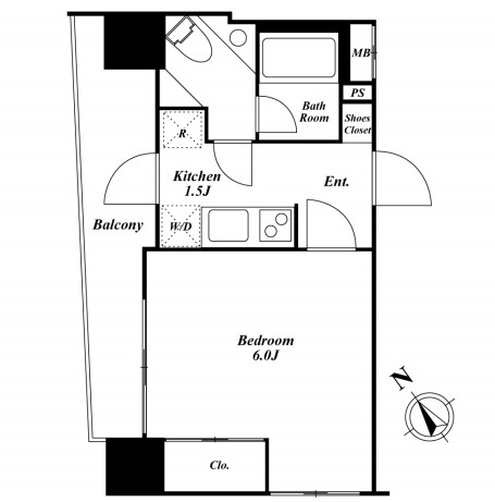 HF銀座レジデンス1003号室