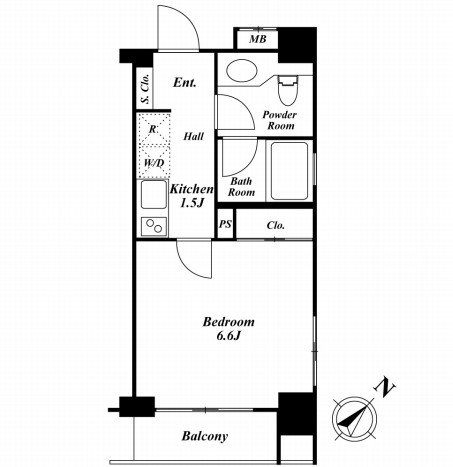 HF銀座レジデンス501号室