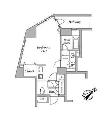 セントラルクリブ六本木1-1101号室