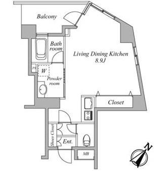 セントラルクリブ六本木3-1105号室