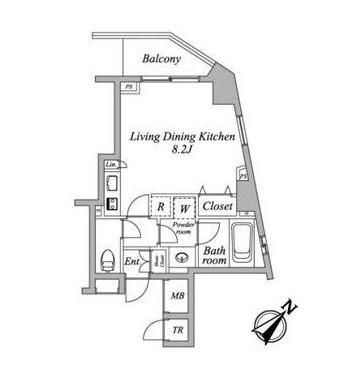セントラルクリブ六本木2-1205号室