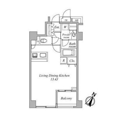 セントラルクリブ六本木3-303号室
