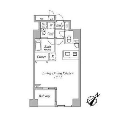 セントラルクリブ六本木2-403号室