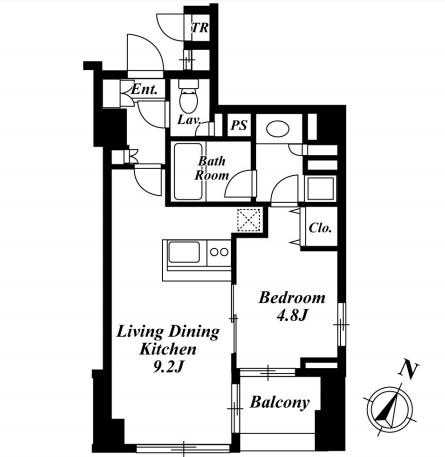 セントラルクリブ六本木3-804号室