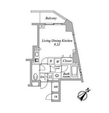 セントラルクリブ六本木2-805号室