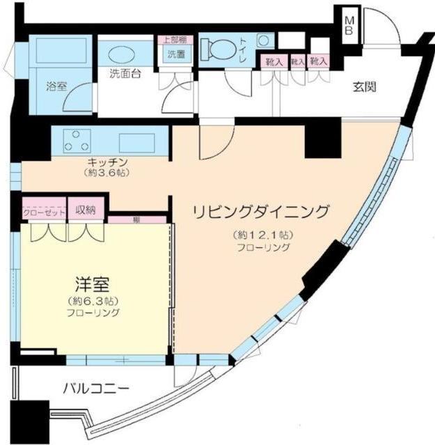 セントラルレジデンス北青山アクシルコート7F号室