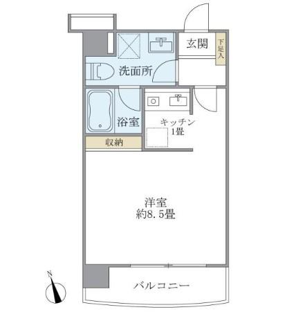 ティアラ恵比寿502号室