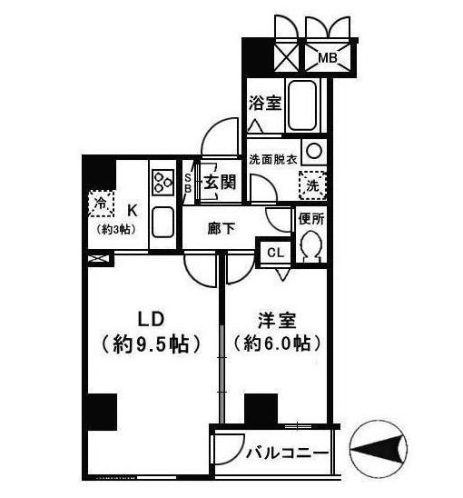 テラス日本橋601号室
