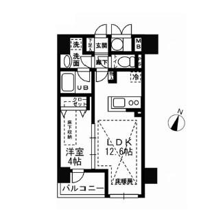 ルジェンテリベル日本橋濱町803号室