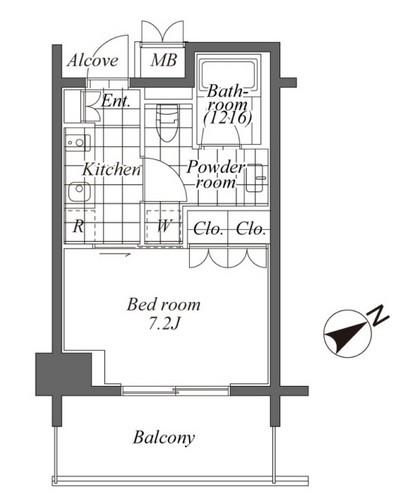 トレディレジデンシア恵比寿 405号室