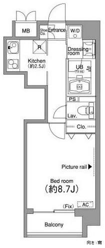 ニッコーアパートメントハウス205号室
