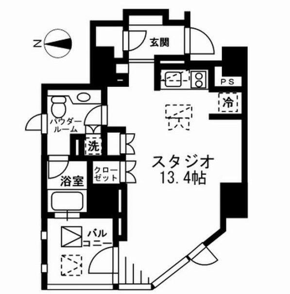 プライムアーバン四谷外苑東1004号室