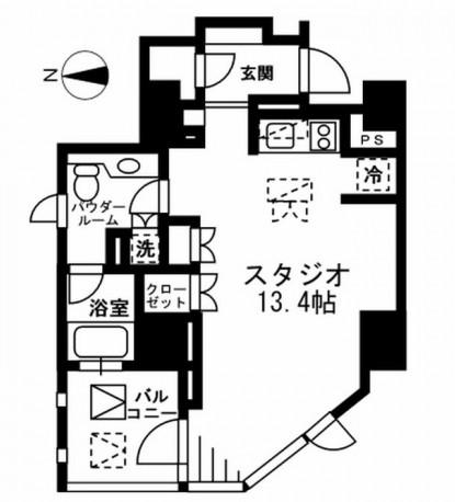 プライムアーバン四谷外苑東404号室