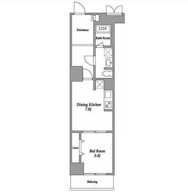 エスティメゾン東新宿204号室
