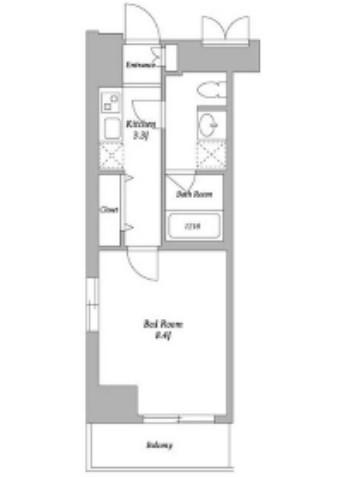 エスティメゾン東新宿207号室