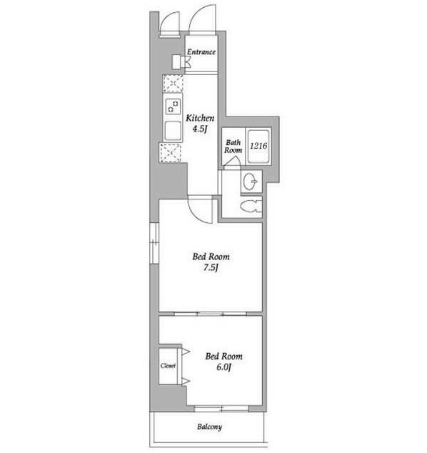 エスティメゾン東新宿401号室