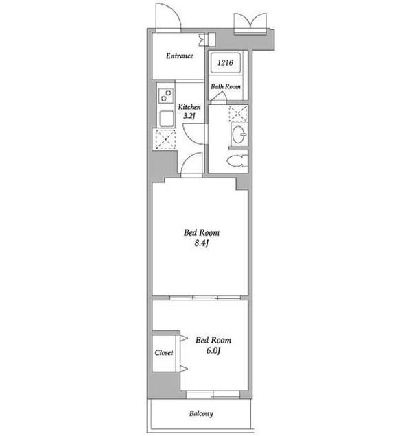 エスティメゾン東新宿503号室