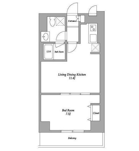 エスティメゾン東新宿506号室