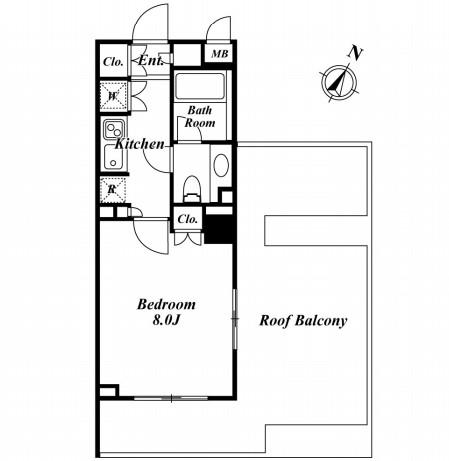 プレミアステージ市ヶ谷河田町 604号室