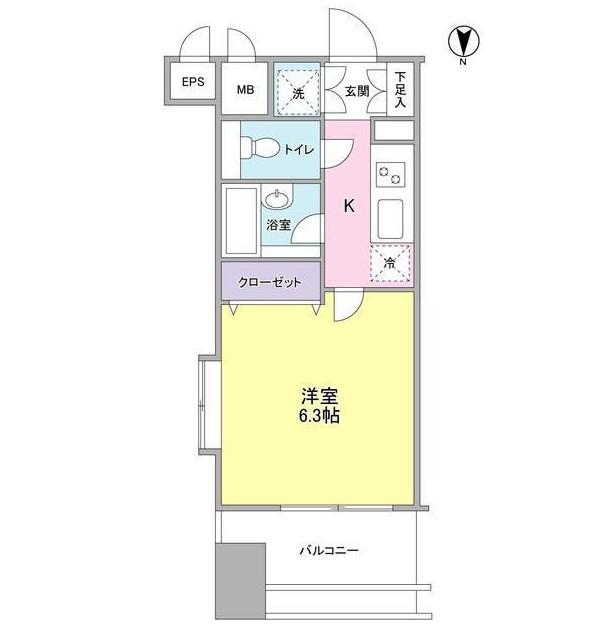 プロスペクト・グラーサ広尾1101号室