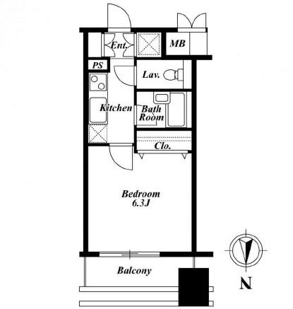 プロスペクト・グラーサ広尾1102号室