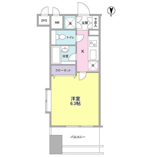 プロスペクト・グラーサ広尾1201号室