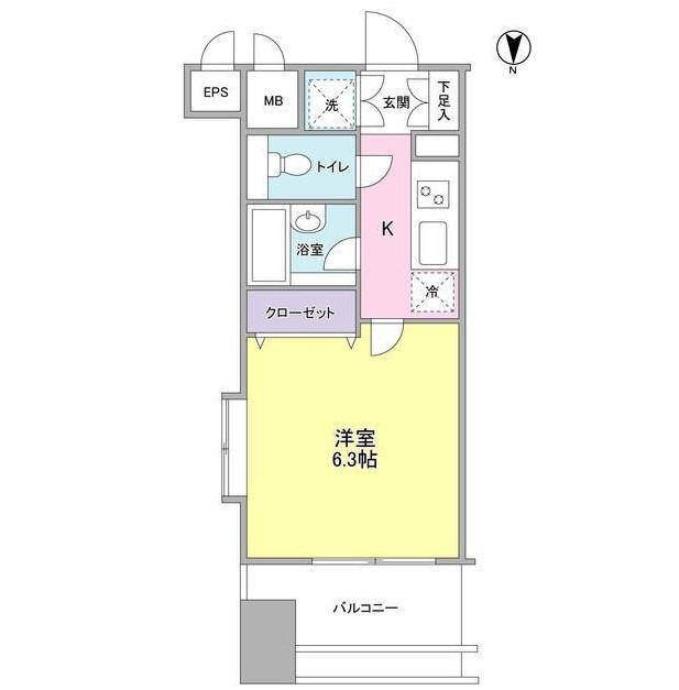 プロスペクト・グラーサ広尾1301号室