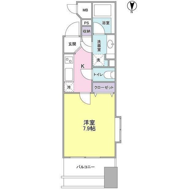 プロスペクト・グラーサ広尾1304号室