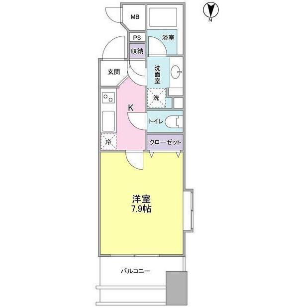 プロスペクト・グラーサ広尾204号室