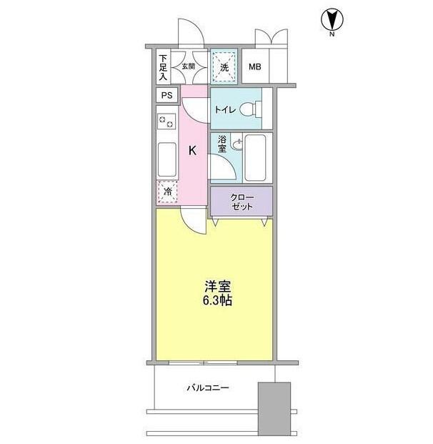 プロスペクト・グラーサ広尾702号室