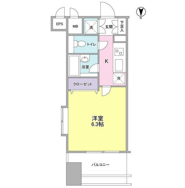 プロスペクト・グラーサ広尾801号室