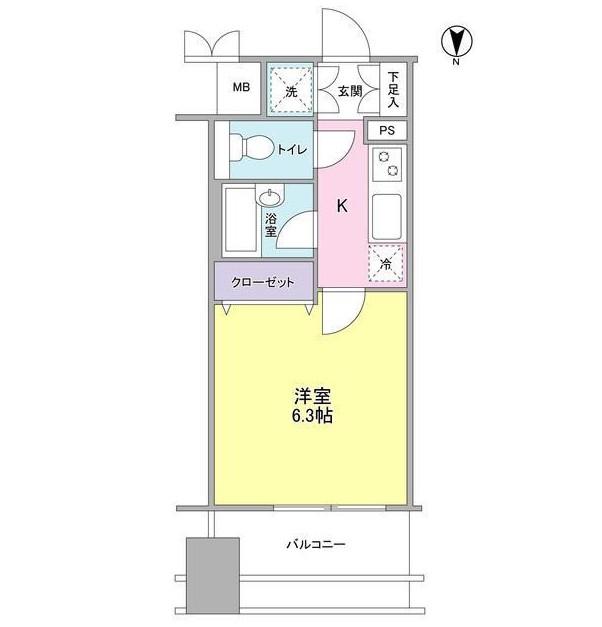 プロスペクト・グラーサ広尾803号室