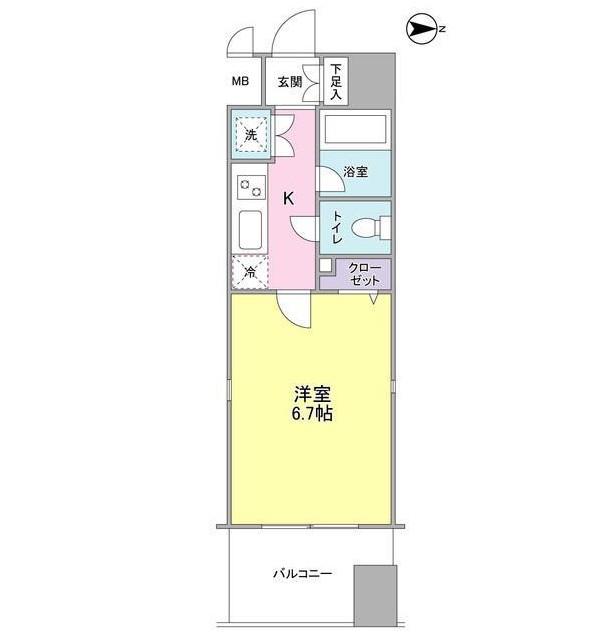 プロスペクト・グラーサ広尾907号室