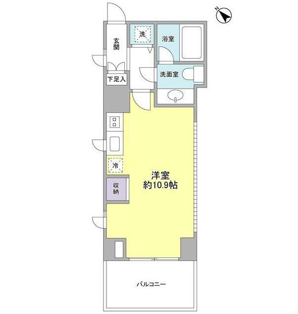 プロスペクト渋谷道玄坂301号室
