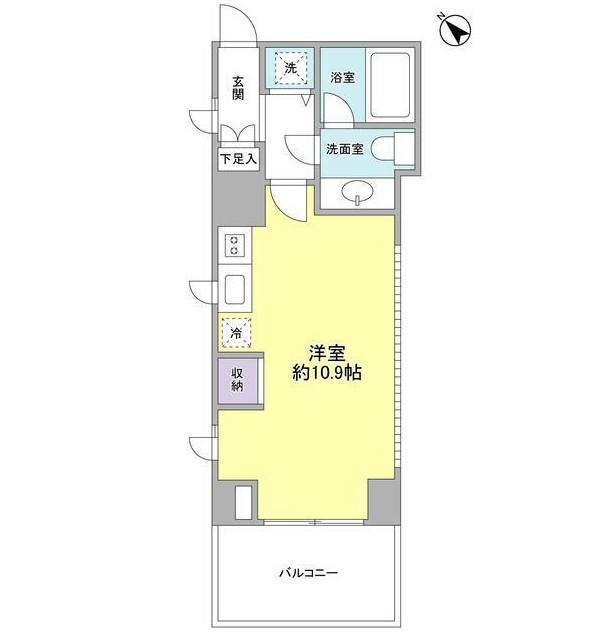 プロスペクト渋谷道玄坂401号室