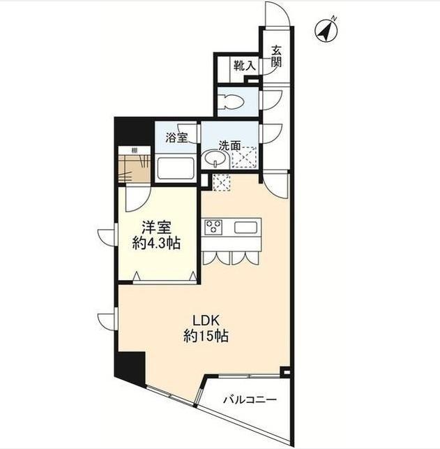 プロスペクト渋谷道玄坂602号室