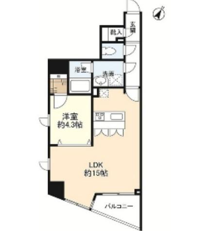 プロスペクト渋谷道玄坂802号室