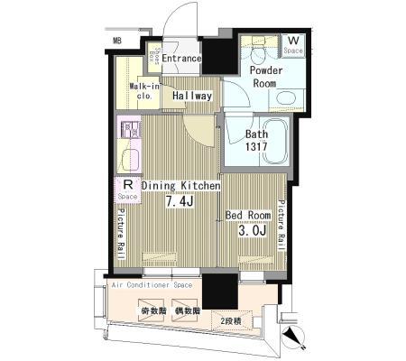 マイタワーレジデンス1102号室