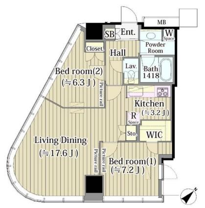 マイタワーレジデンス1109号室