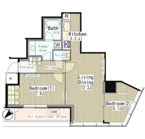 マイタワーレジデンス1114号室