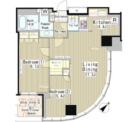マイタワーレジデンス1706号室