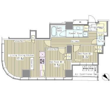 マイタワーレジデンス2203号室