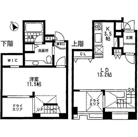 ミルーム乃木坂102号室