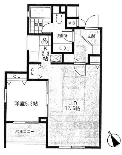 ミルーム乃木坂 205号室