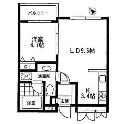 ミルーム乃木坂307号室